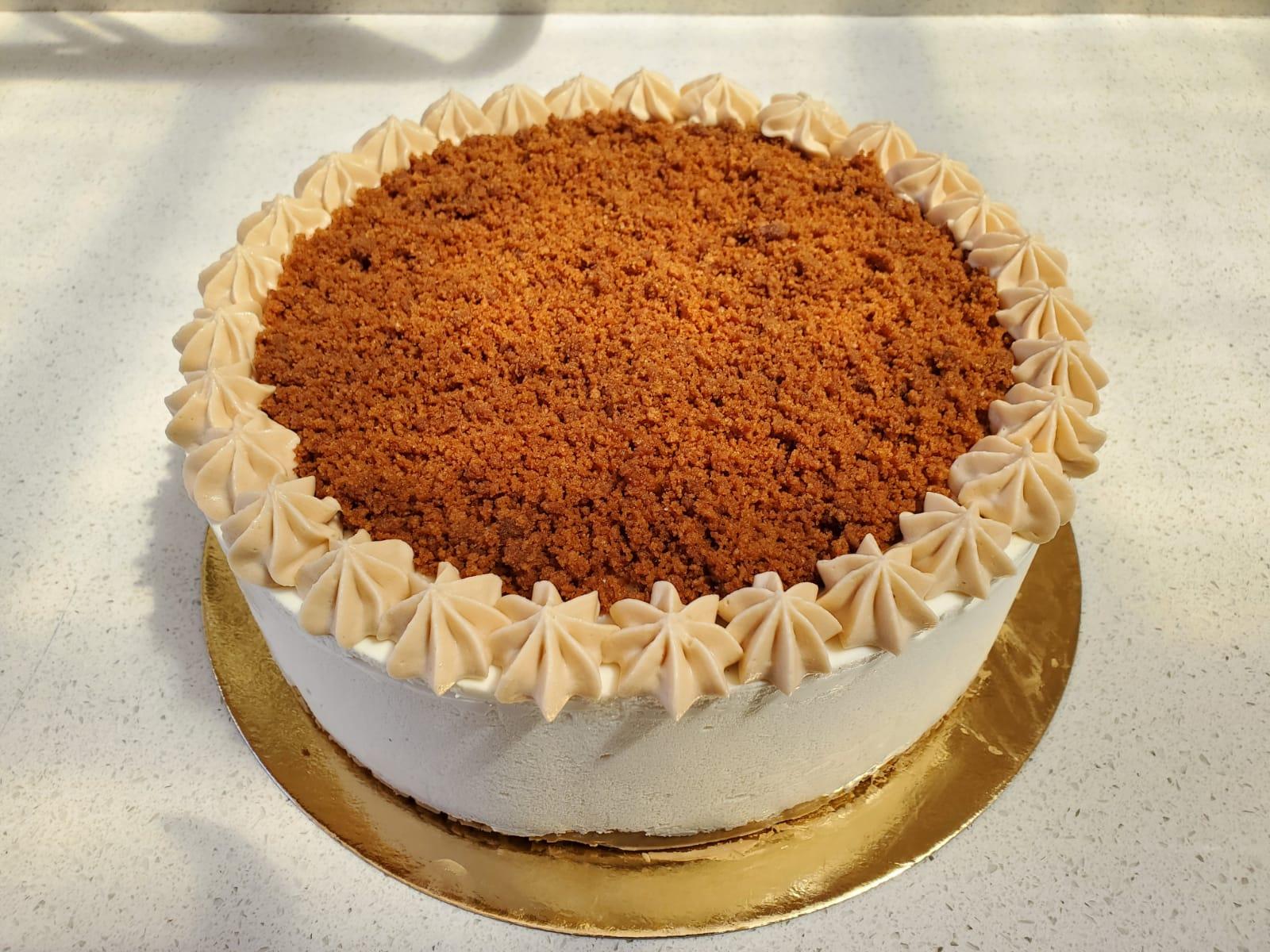 עוגת מוס לוטוס