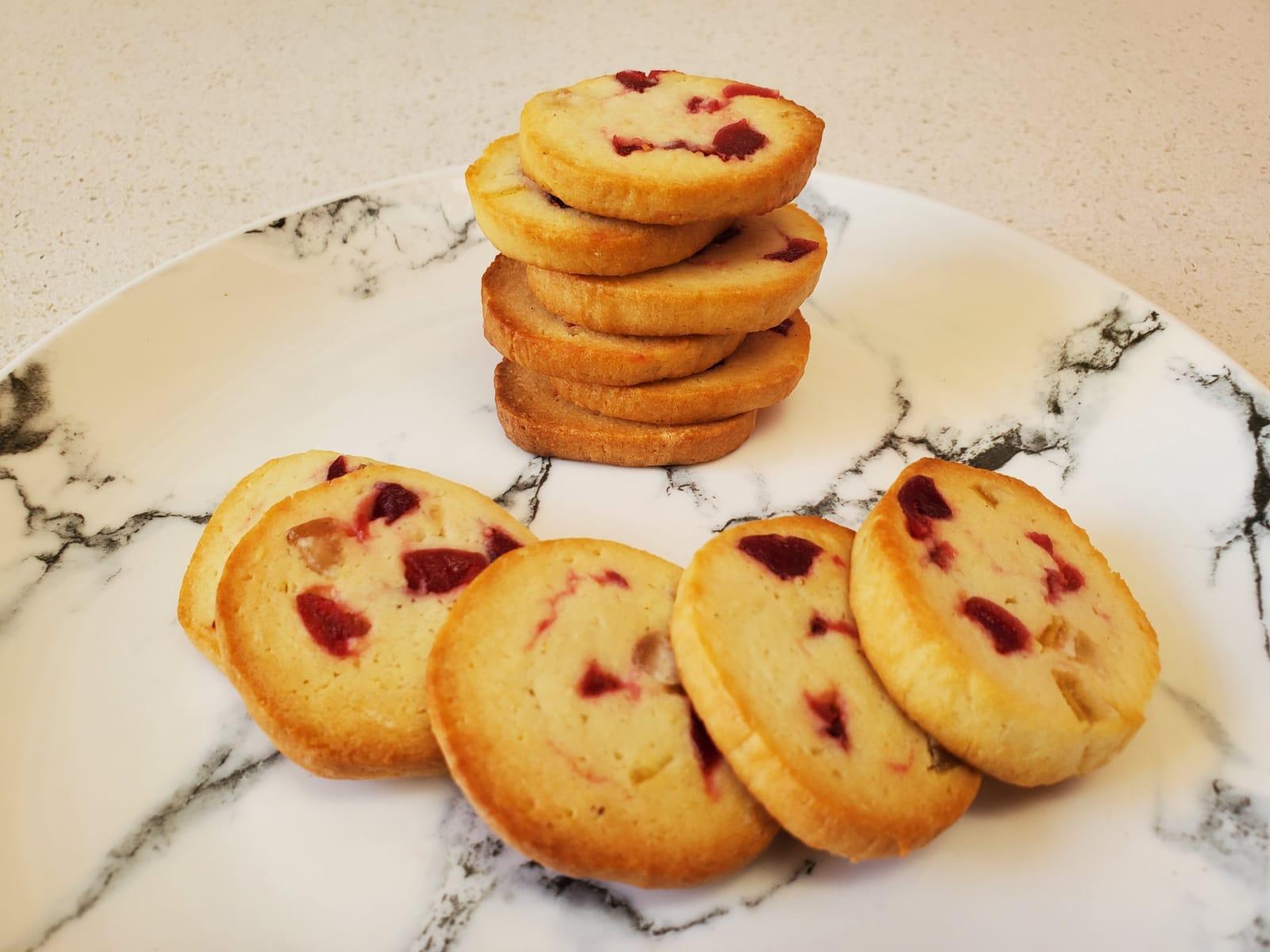 עוגיות שקדים גבינה