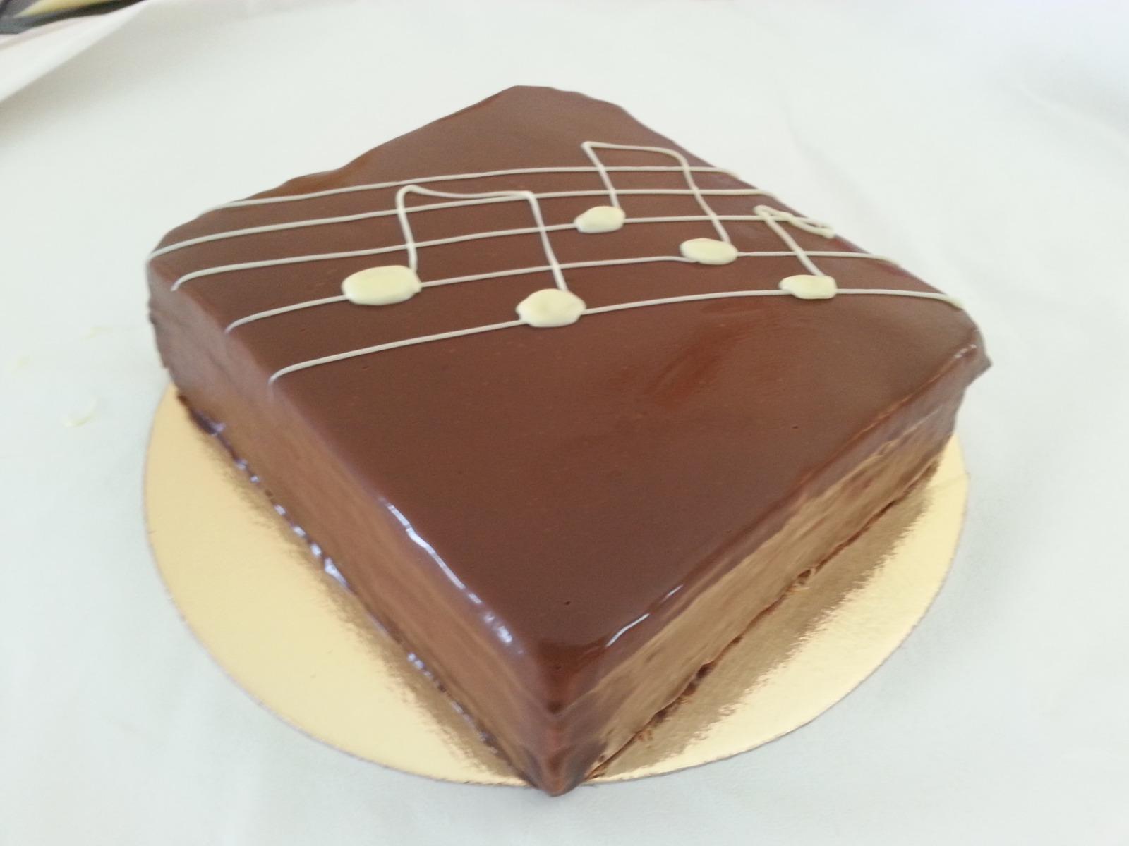 עוגת קפה ושוקולד