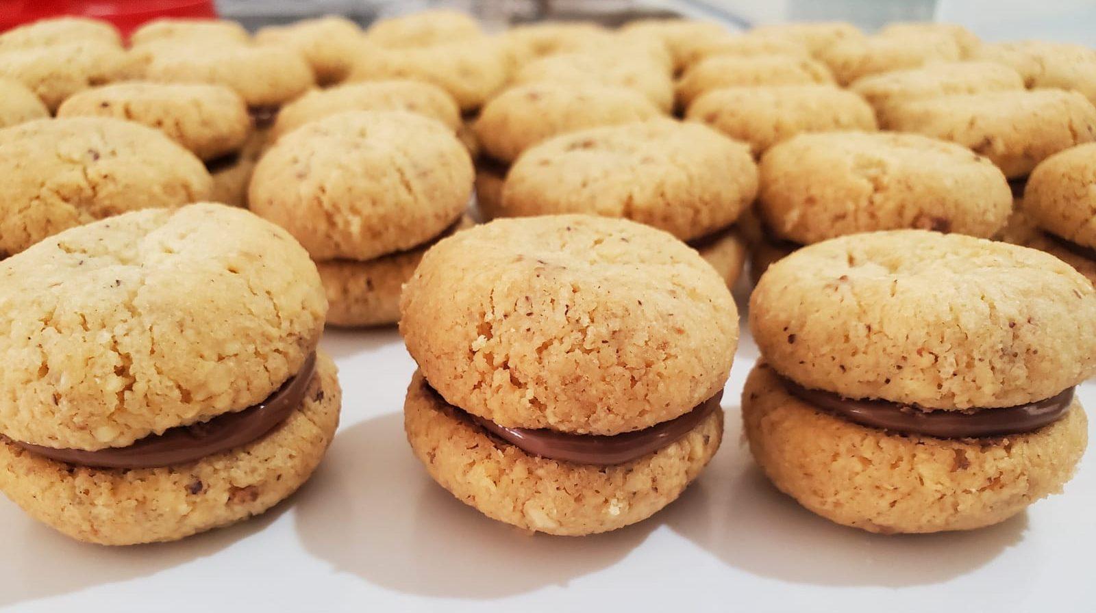 עוגיות איטלקיות נשיקת הגברת